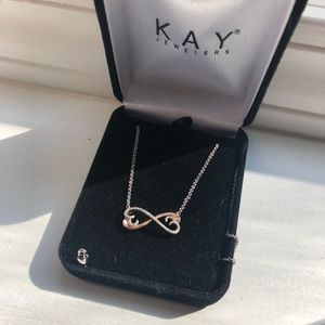 Kay jewelers infinity heart Necklace